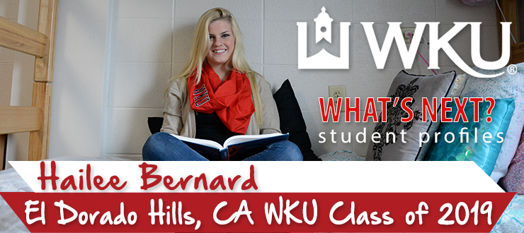 What's Next? Student Profile: Hailee Bernard
