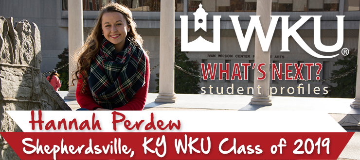 What's Next? Student Profile: Hannah Perdew