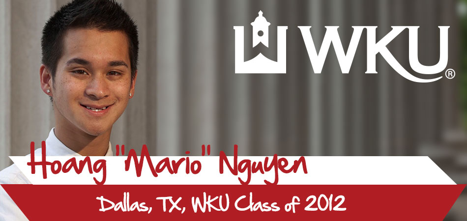 "Hoang ""Mario"" Nguyen - Dallas, TX - Class of 2012"