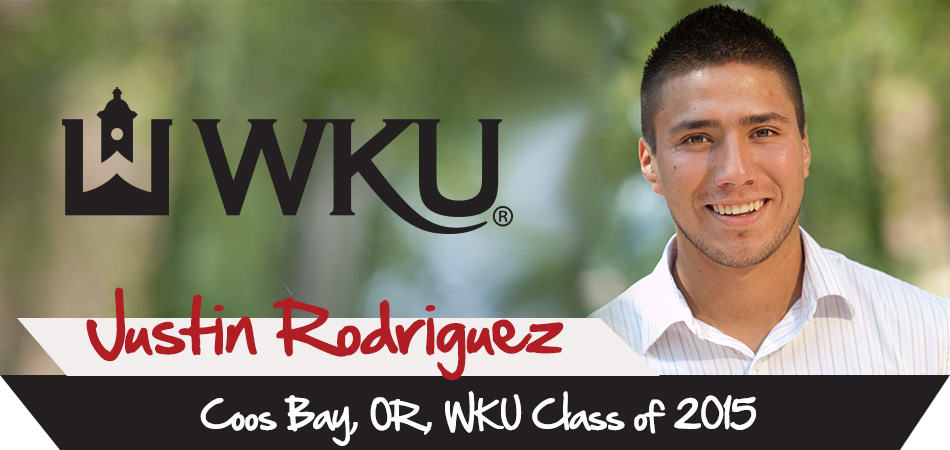 Justin Rodriguez, Coos Bay, Oregon, WKU Class of 2015