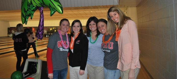 Nursing Students at Bowl for Kids Sake