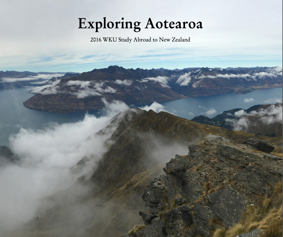 2016 WKU NZ Study Abroad photo book
