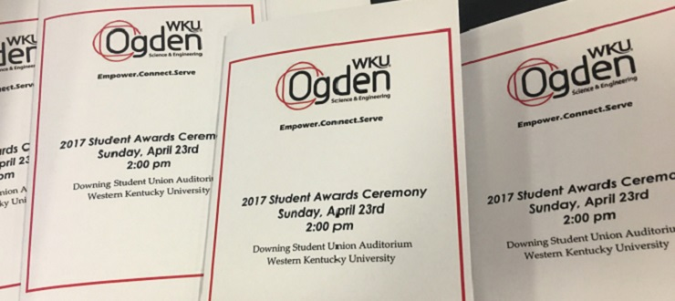 2017 Ogden College of Science and Engineering Student Awards Ceremony