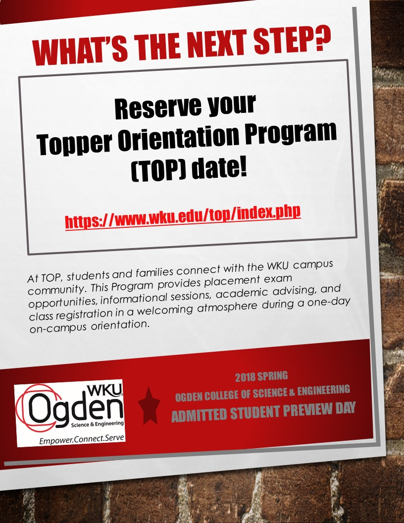 Register for TOP