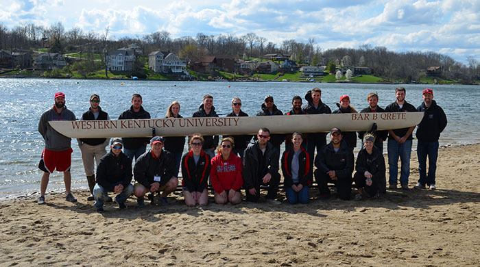 Concrete canoe team finishes first overall in Ohio Valley Student Conference.
