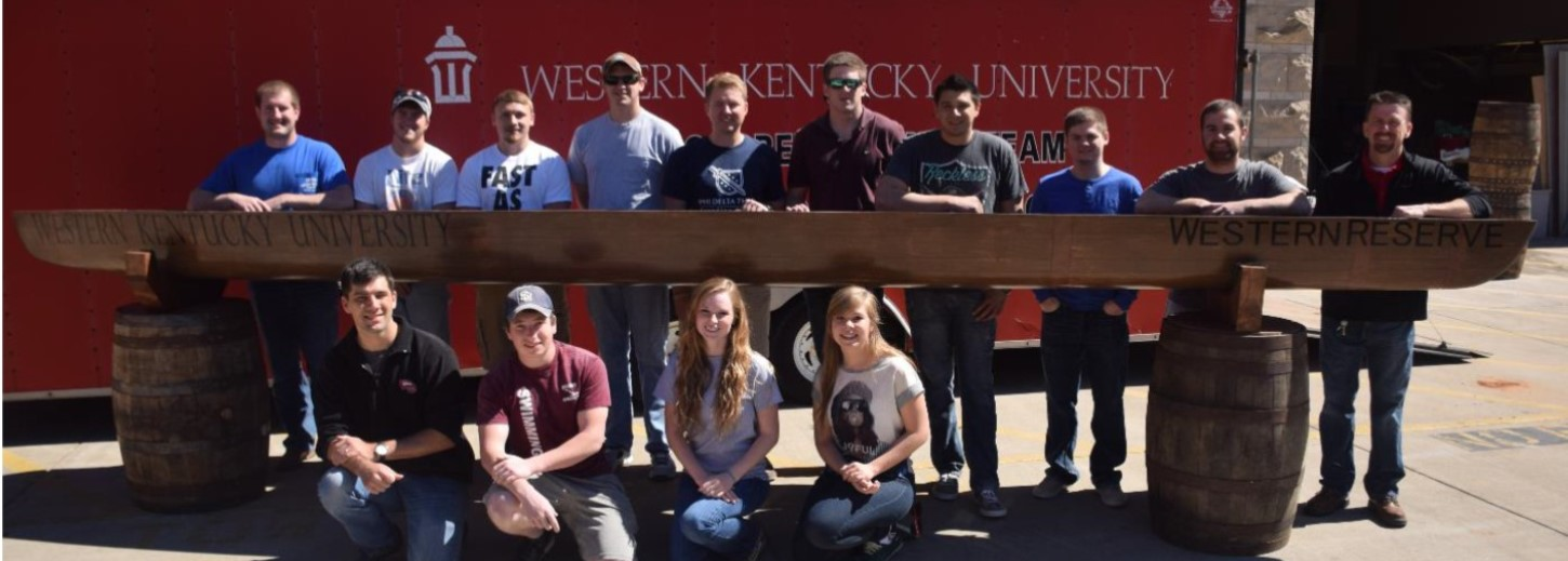 WKU concrete canoe team takes first place.