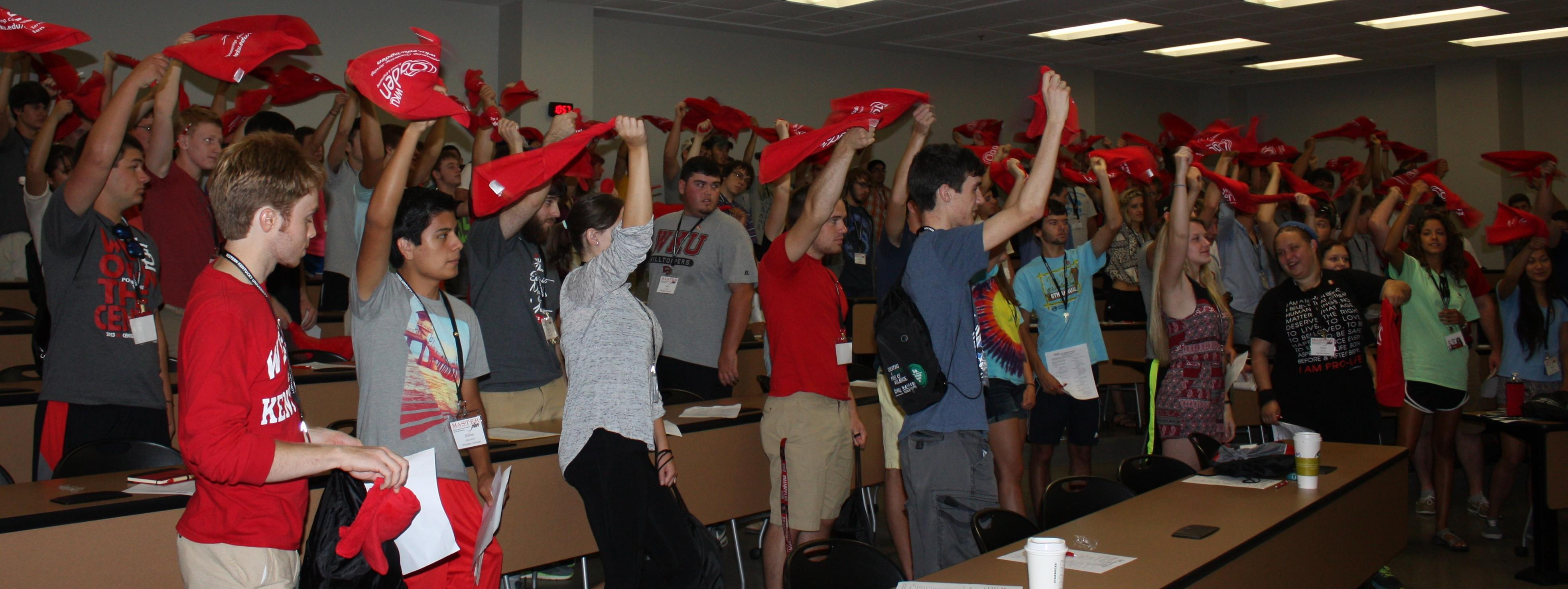 Ogden College welcomed the MASTER Plan students on 8/18/14.