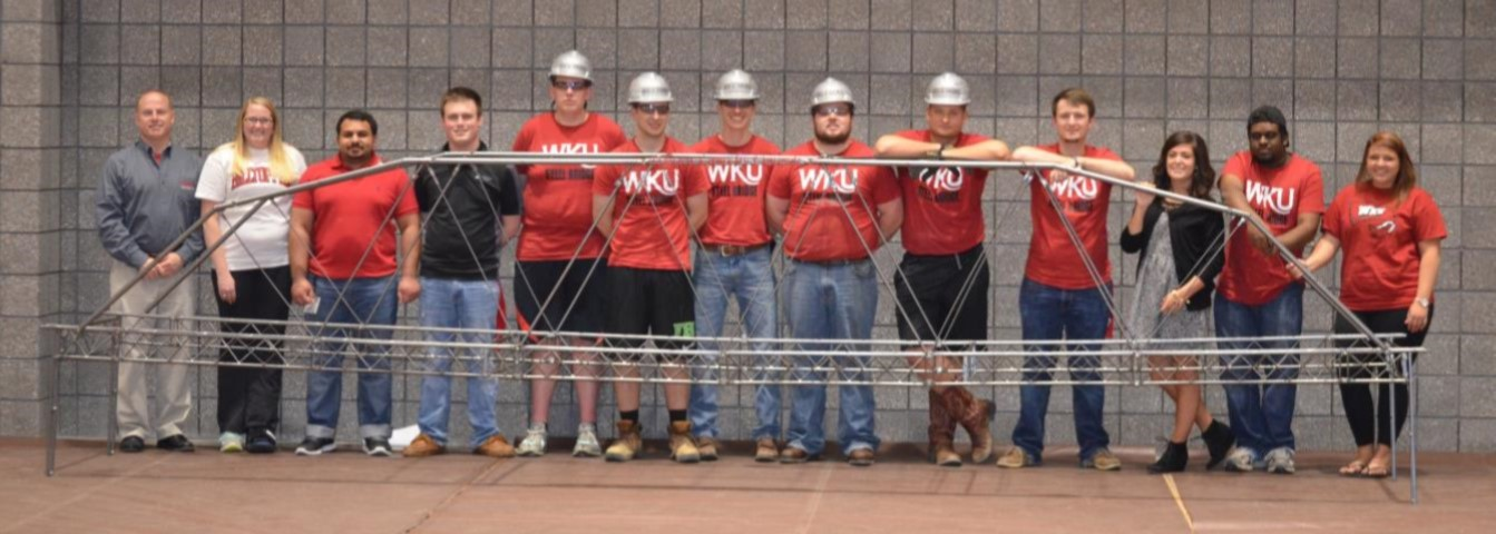 WKU steel bridge team takes first place.
