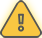 A yellow warning triangle icon