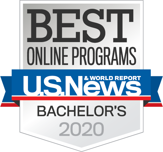 U.S. News & World Report - Best Online Programs - Bachelor's 2020