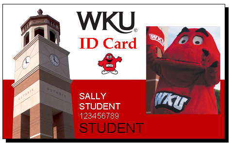 WKU Student ID Card sample