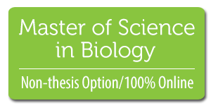 Biology Non-Thesis Option, 100% Online