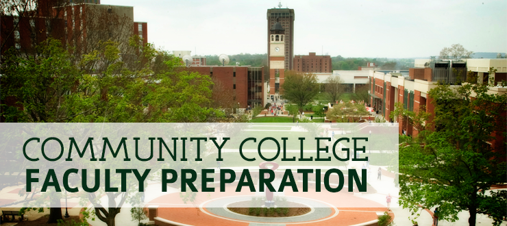 Community College Faculty Preparation banner