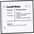 Cornell Note Taking Strategy Worksheets