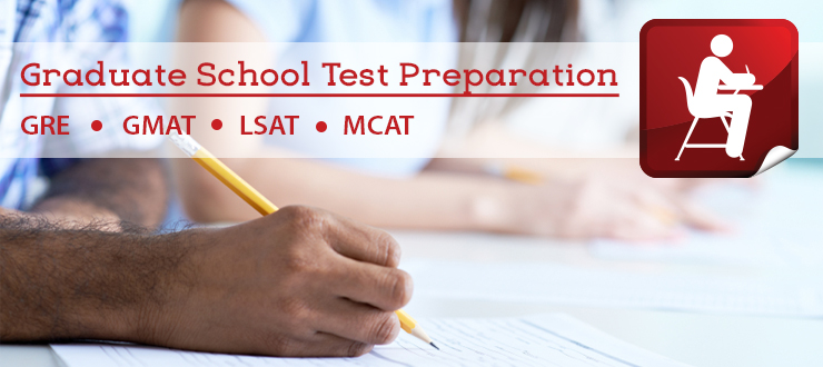 Graduate School Test Preparation banner