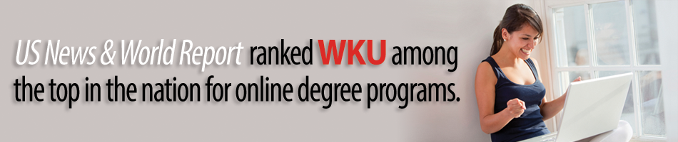 WKU ranked 2nd in online programs