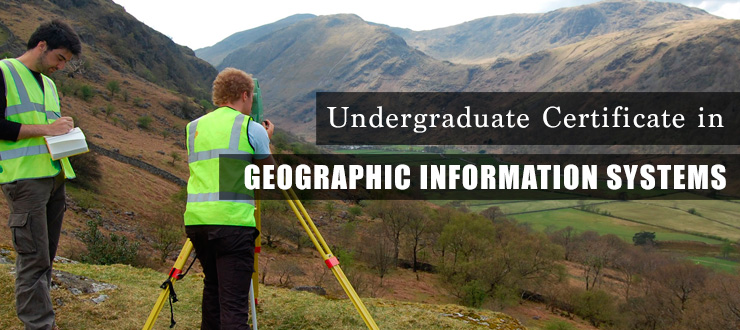 Undergraduate Certificate in Geographic Information Systems