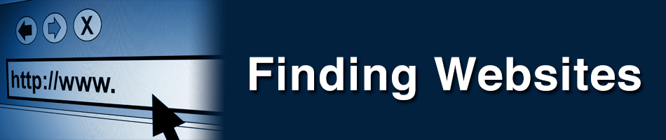 Finding Websites
