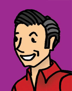 Comic Image of Bruce Kessler
