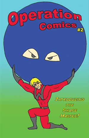 Cover of Comic Book #2