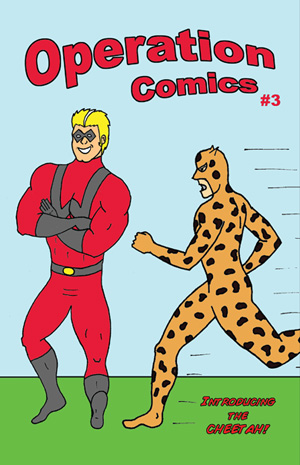 Cover of Comic Book #3