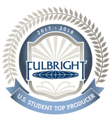 Fulbright Top Producer 2017-18 Badge