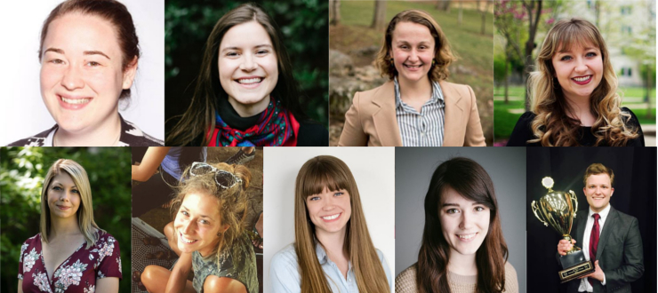 Photograph: Fulbright U.S. Grant Honorees