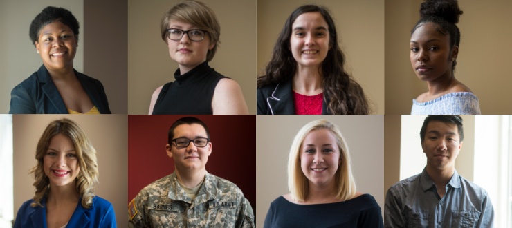 Photograph: Gilman Scholarship Honorees