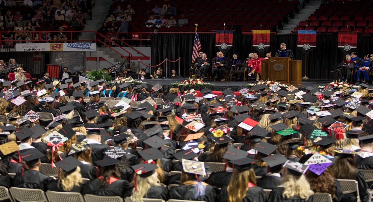 Potter College Recognition Ceremony | December 14th | 10:30 a.m. | Diddle Arena