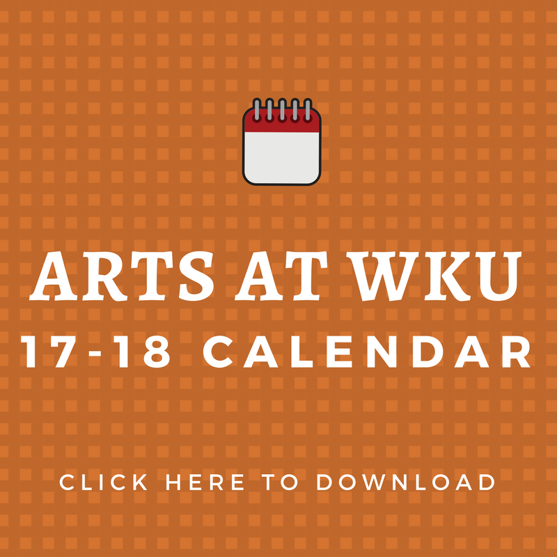 arts calendar button