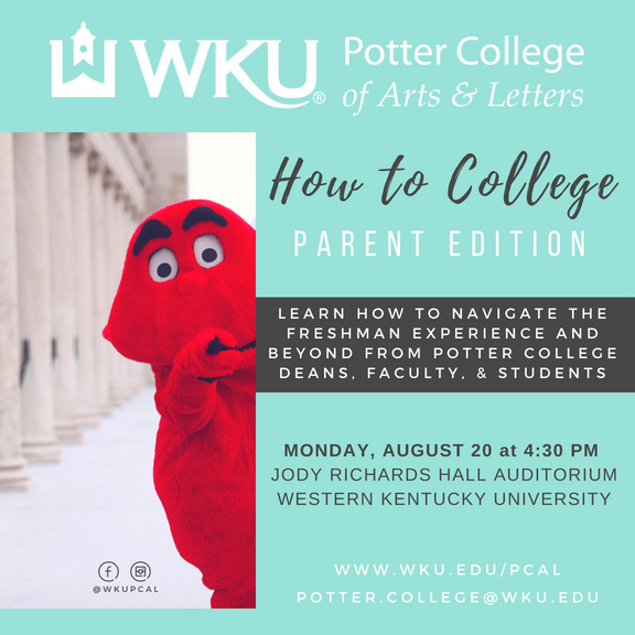 how to college event for parents