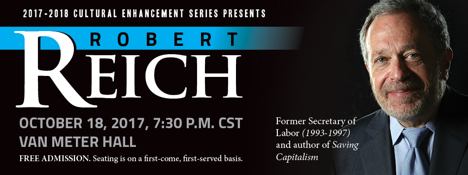 Robert Reich, October 18th