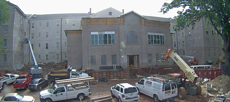 Construction at Gatton Academy