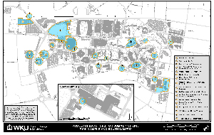 Campus Summer Map Photo