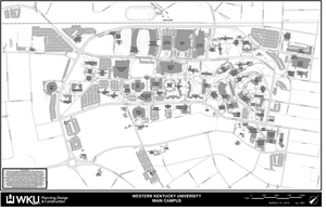 Campus Main Map Photo