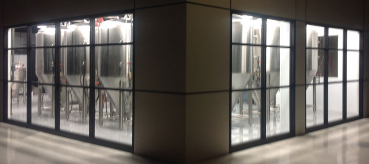 Alltech Microbrewery at Center for Research & Development