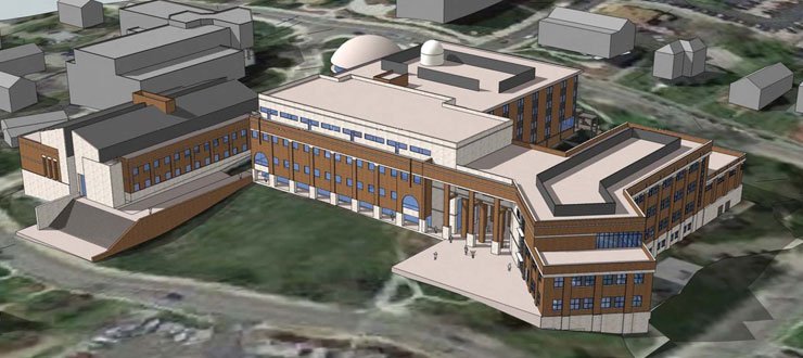 Artists Rendering - New Ogden College Hal
