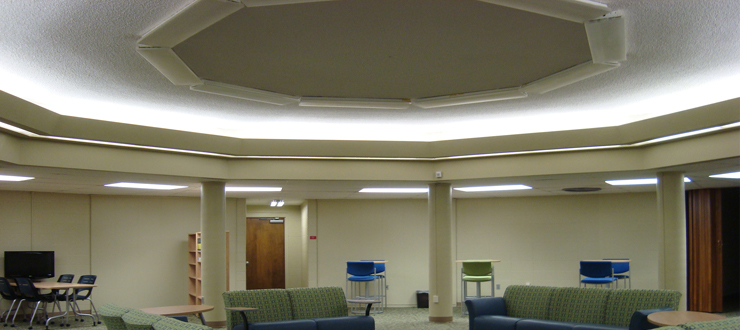 Tate Page Hall 401 Ceiling Renovation