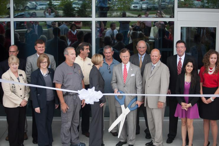 8-22-13 Ribbon Cutting Ceremony