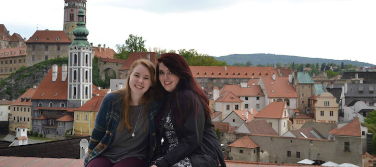 Students experienced the Czech republic during a recent study abroad trip with Dr. Murphy.
