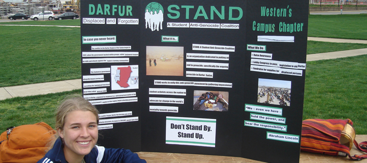 Earth Day and Stand Up for Darfur