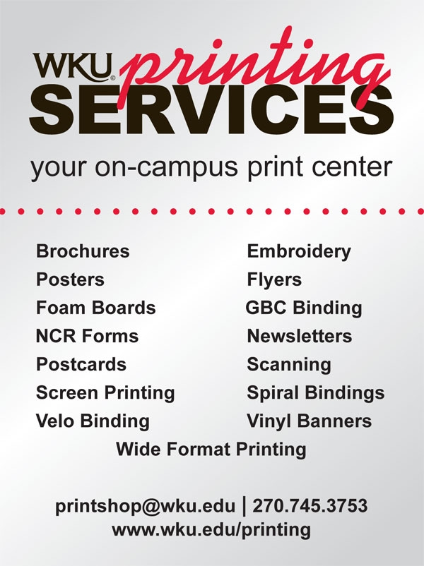 Printing Services  Estimate Request Form