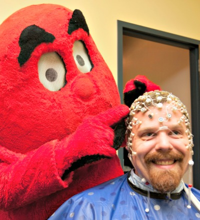 Big Red applies an ERP to Dr. Mienaltowski