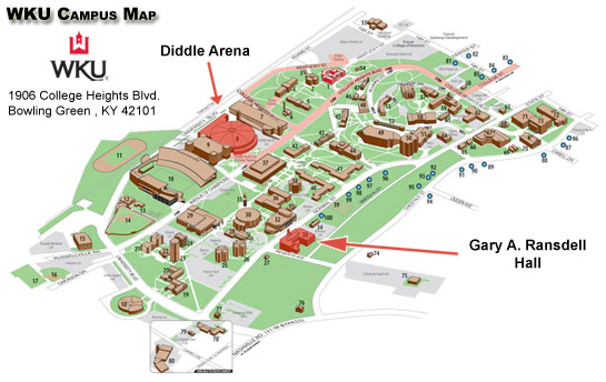 GRH on Campus Map