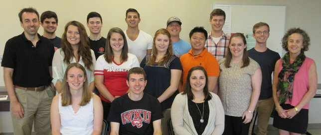 2015-2016 I/O students and faculty