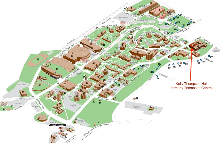 KTH on Campus Map