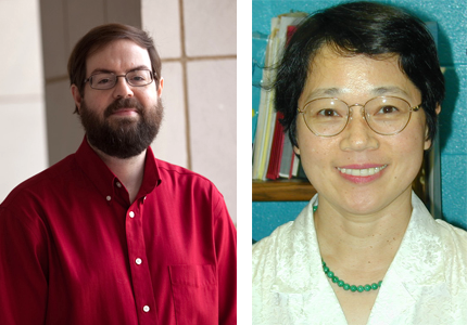 Lab Managers Farley Norman and Hideko Norman