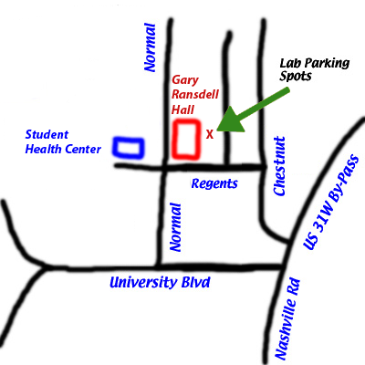 location of lab
