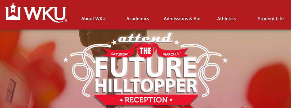 A new WKU.edu homepage redesign debuted in January 2016 - a partnership betweeen WKU Public Affairs and WKU Information Technology.