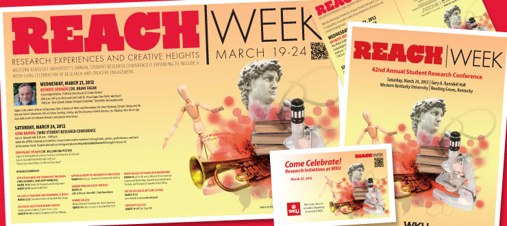 REACH Week Web Ads designed by WKU Publications